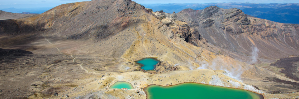 Turangi und Tongariro Crossing
