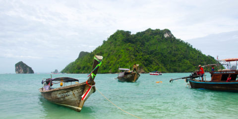Ao Nang – Willkommen in Thailand